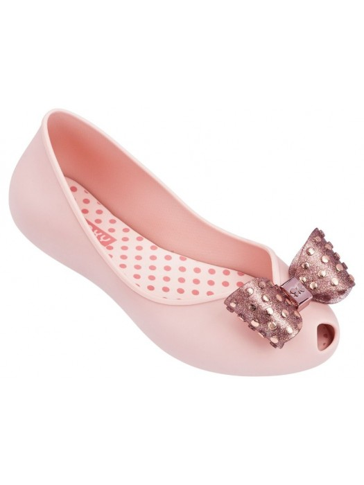 Zaxy kids confetti shoes in blush