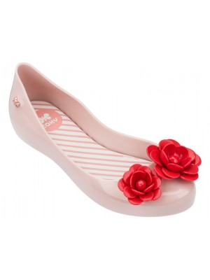 zaxy kids blossom shoes in blush contrast