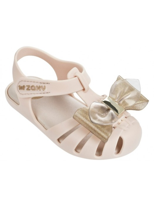 Zaxy glamour bow sandals in ivory