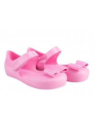 Igor Mia jelly shoes pink