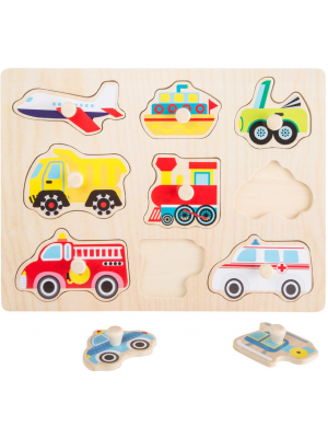legler wooden puzzle transport vehicles
