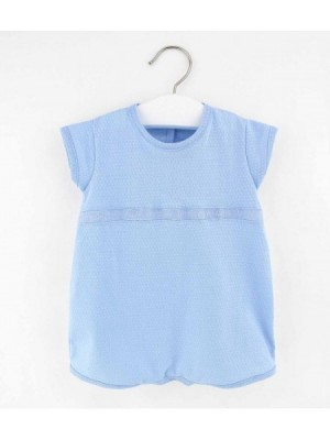 rapife blue short sleeved romper