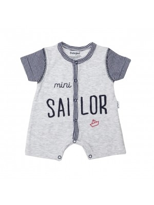 Babybol sailor print shortall