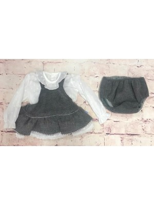 babine grey and white 3 piece set
